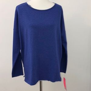 Betsey Johnson pullover hoodie women's size L